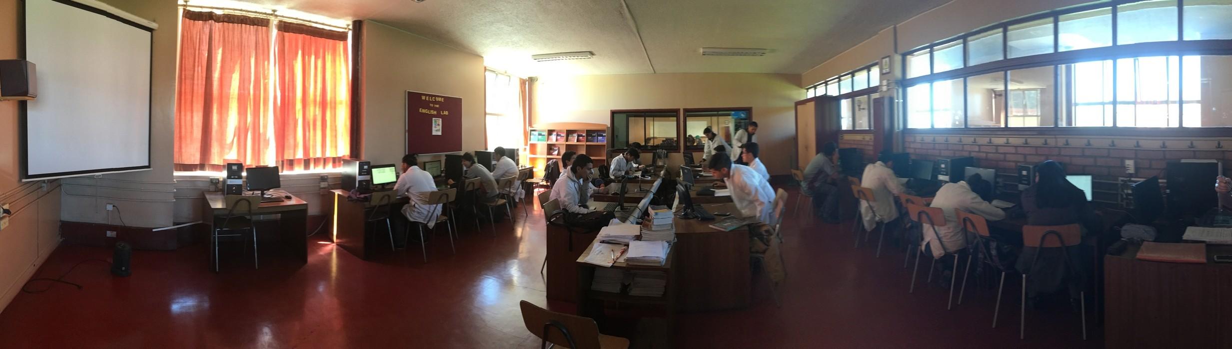 Laboratorio de Inglés
