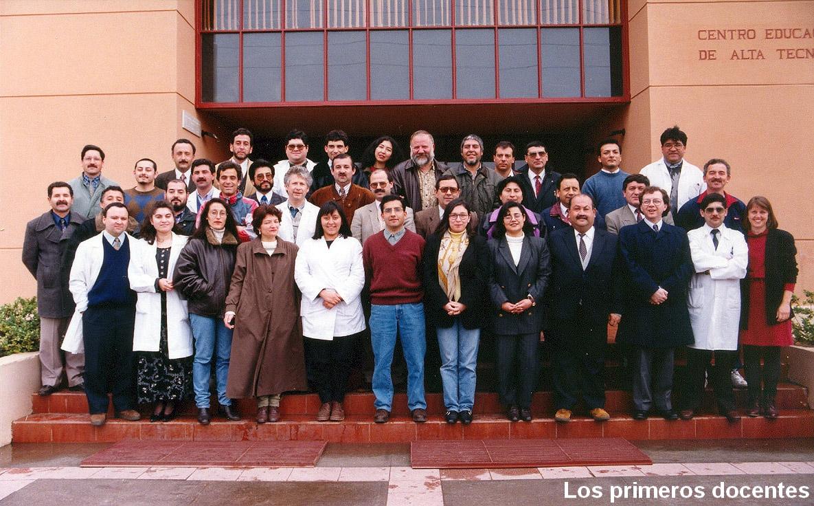 Los primeros profesores del CEAT