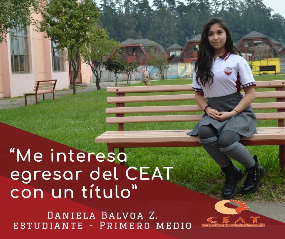 2019 - Daniela Balvoa