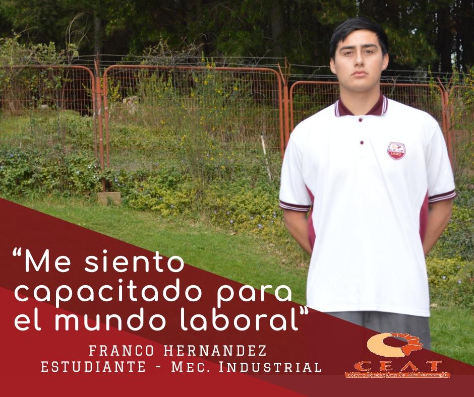 2019 - FRANCO HERNANDEZ